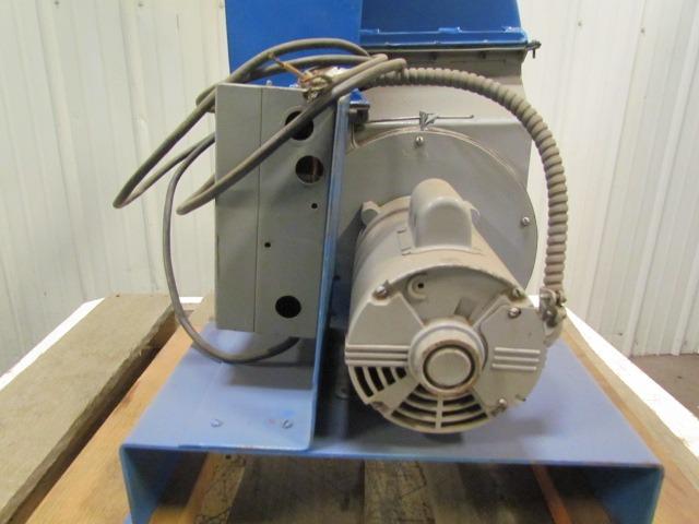 Schneible vintage industrial small vention fan unit 1hp for Dayton electric fan motors