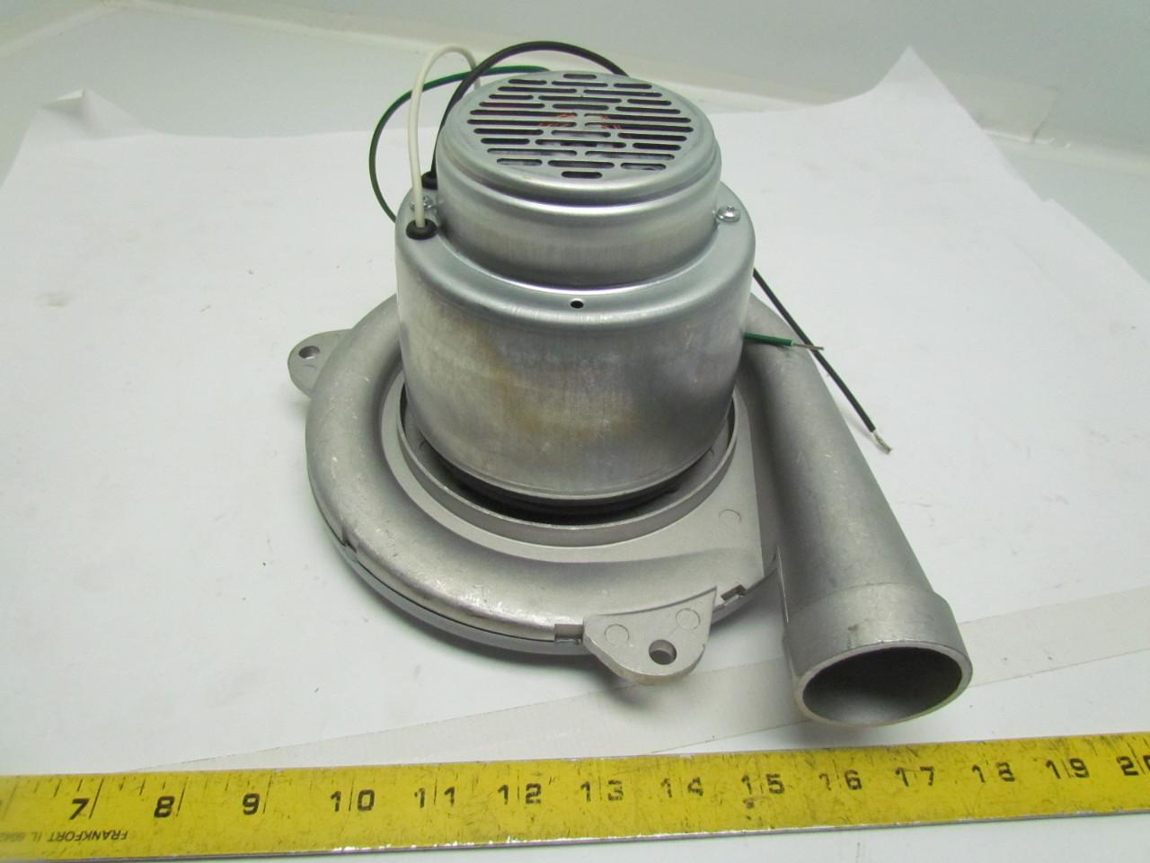 Ametek 122172 18 6vmw7 Vacuum Motor Blower Tangential 1