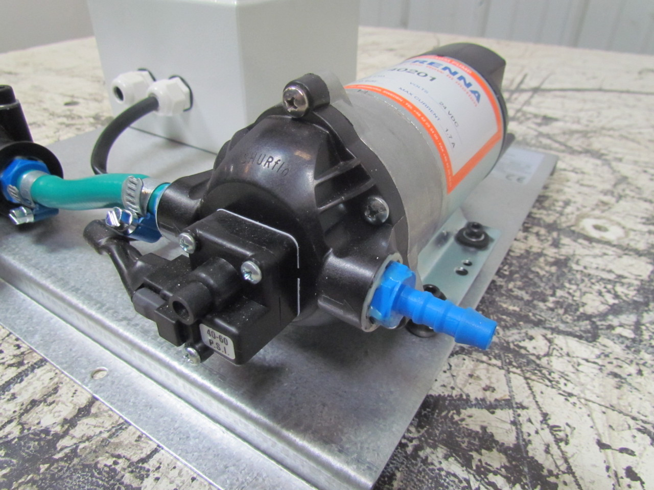 how to clean pump in dissolution units