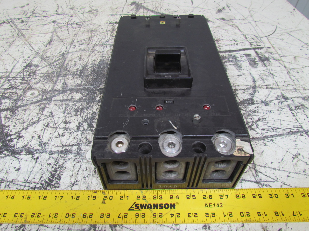 Snap Square D Ma 3800 F Circuit Breaker Molded Case 600v 600amp 3 Zinsco Breakers New Used And Obsolete Breakerconnection Pole 800amp
