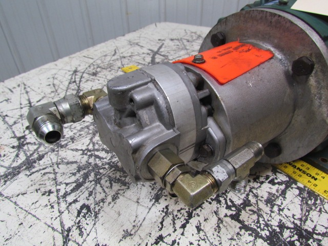 Parker hydraulics h49aa2a hydraulic gear pump unit w for Hydraulic pump motor units