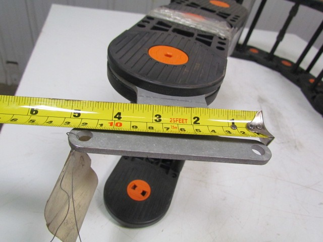 Flexible Cable Track : Gortrac nylatrac flexible cable track quot oal