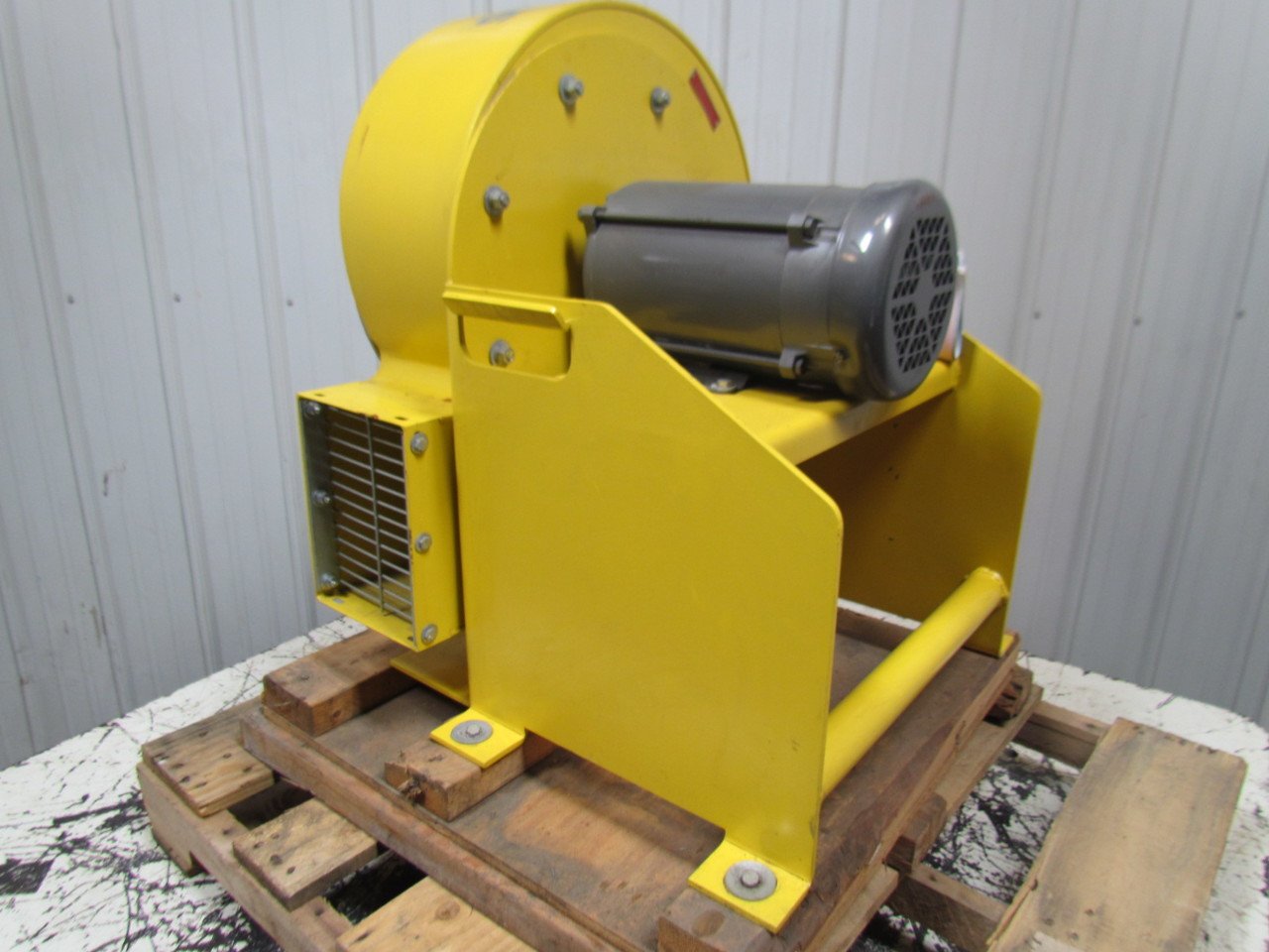 High Pressure Centrifugal Blowers : Coppus high pressure centrifugal blower exhaust cfm