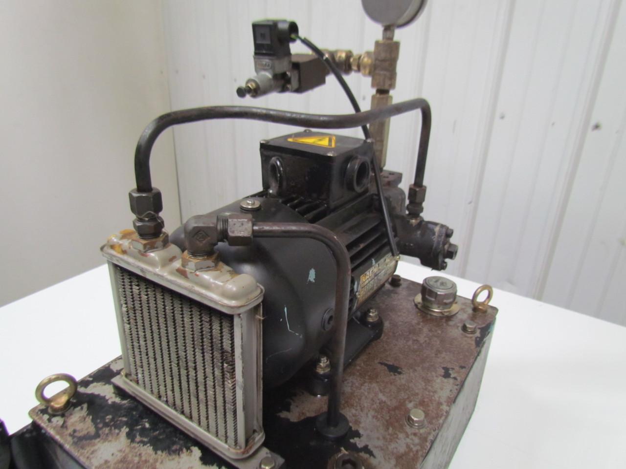 Nachi fujikoshi 5 1594 99009 13l hydraulic pump unit 200 for How to size a hydraulic pump and motor