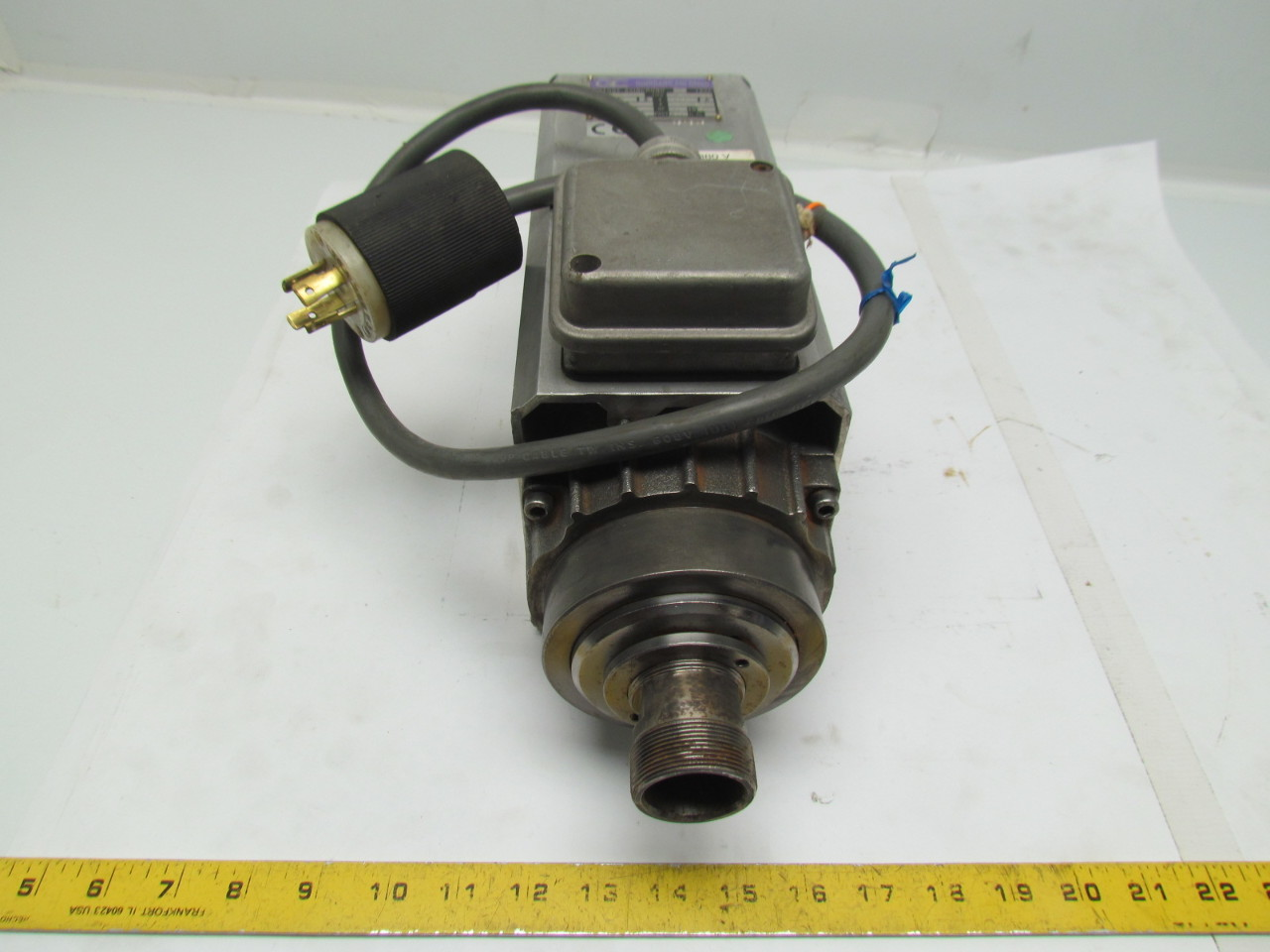 Pds Colombo Rv High Speed Collet Spindle Motor Cnc 10hp 230 380v 18000rpm