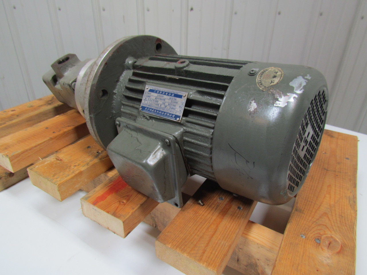 Yb167 3 phase asynchronous motor hydraulic pump ebay for How to size a hydraulic pump and motor