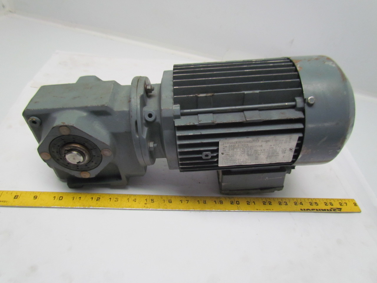 Sew Eurodrive Sa37 Dt80k4 Motor Ratio Gearbox