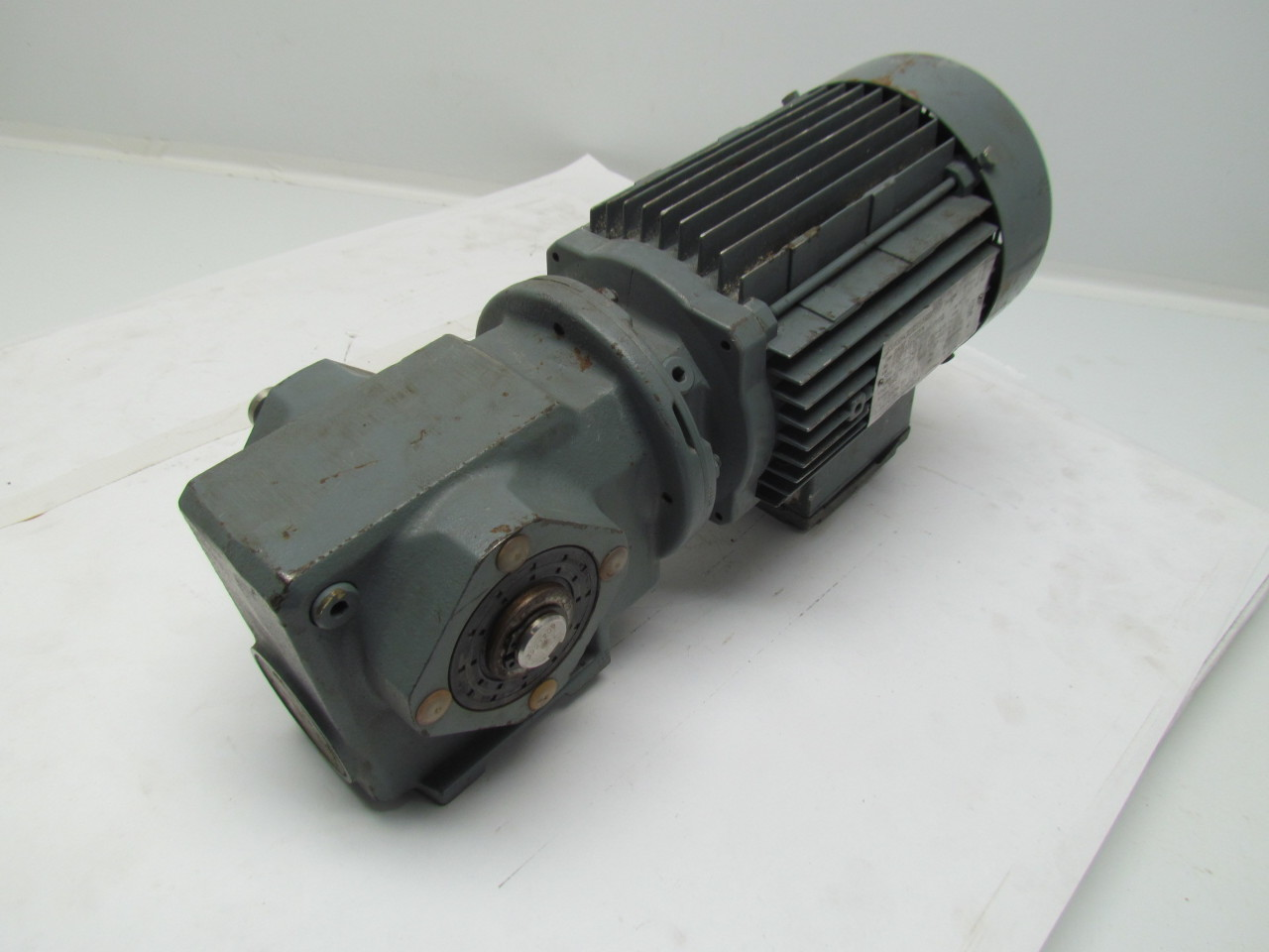 Sew Eurodrive Sa37 Dt80k4 Motor Ratio Gearbox