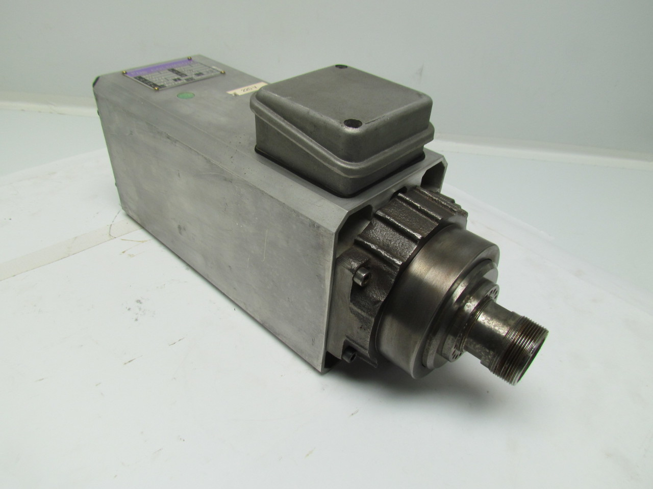 Pds colombo rv110 2 high speed spindle collet motor 10 2hp for High speed spindle motors
