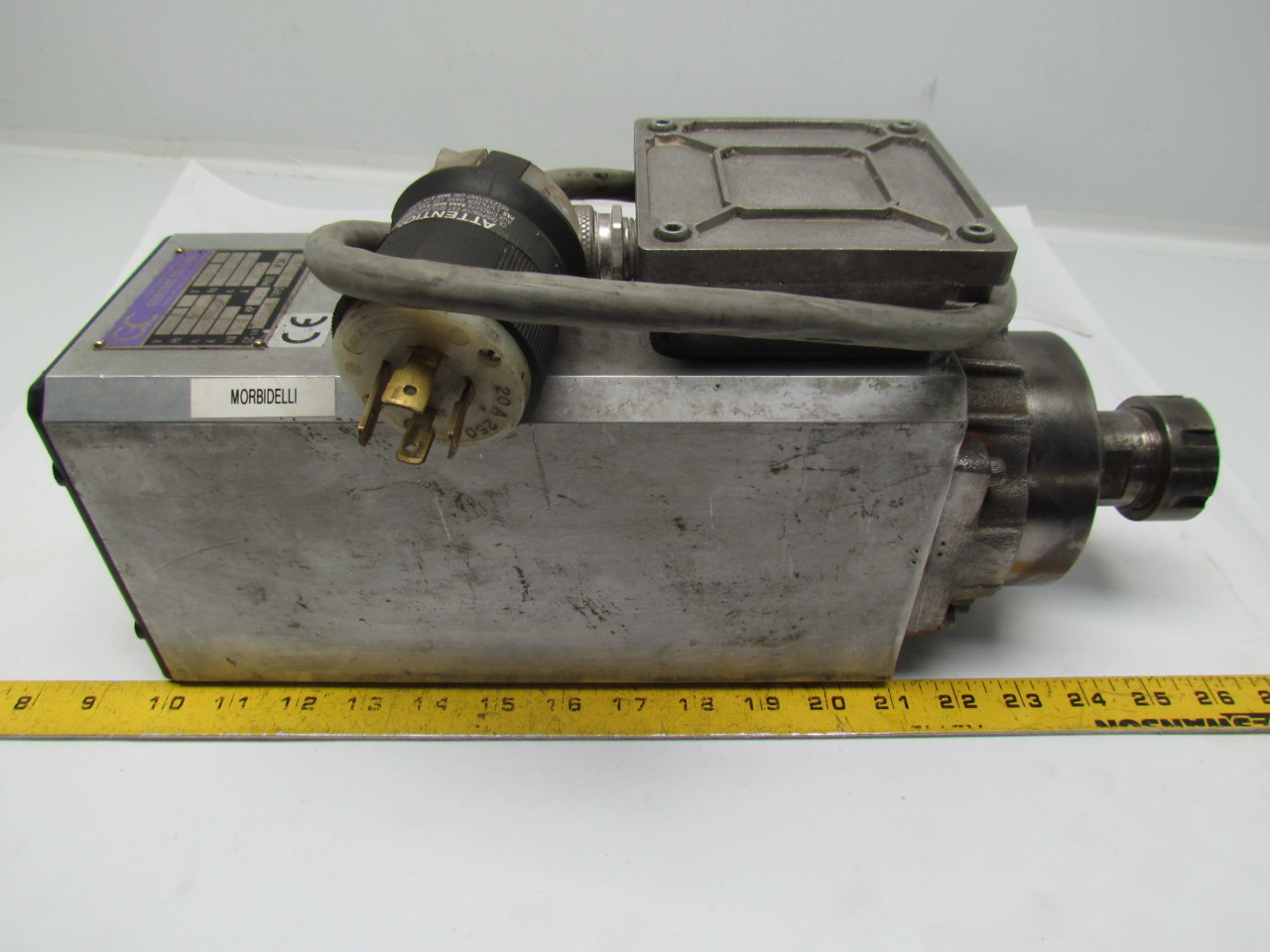 Pds Colombo High Speed Spindle Collet Motor 9hp Cnc 18000 24000rpm 380v Ebay