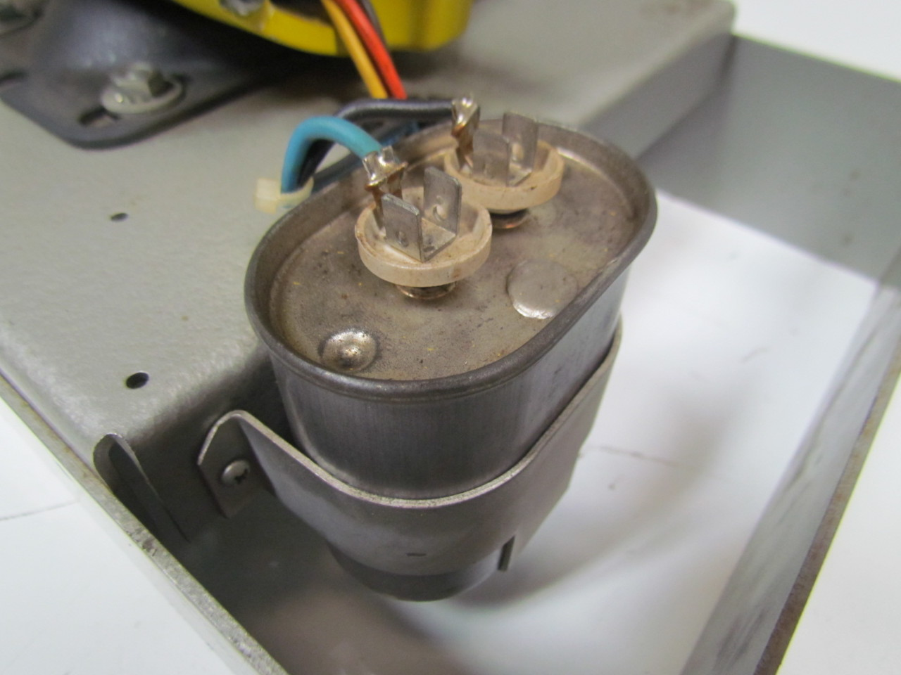 Lab Volt Ems 8253 2 Phase Capacitor Run Motor