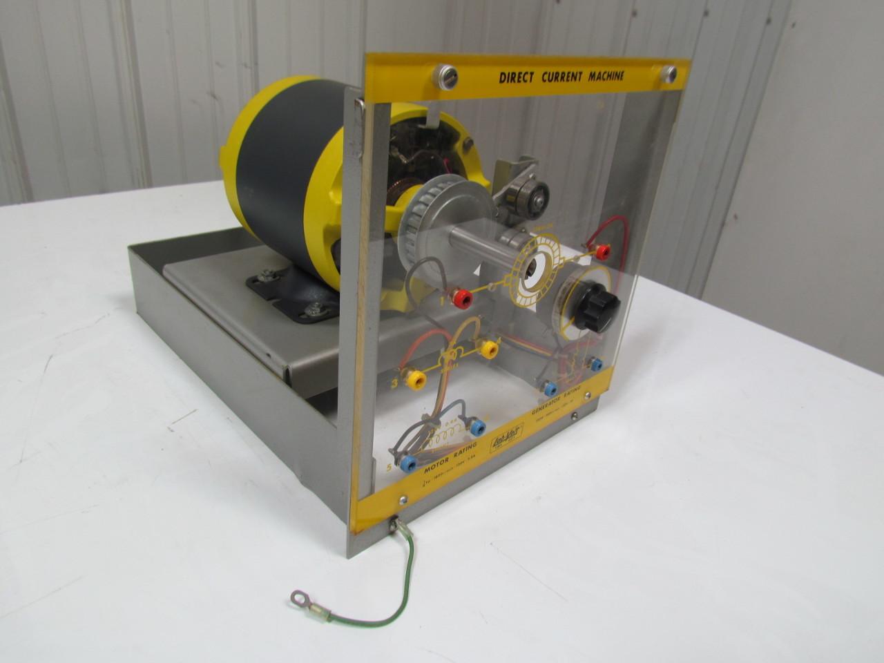 Lab volt ems 8211 dc machine generator motor Dc motor to generator