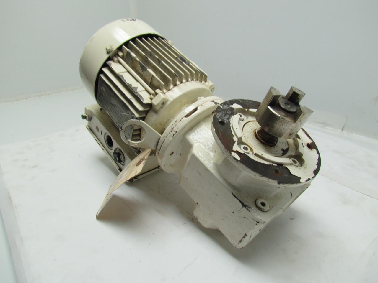 Sew Eurodrive Sf32dt71c4 15 1 Ratio Motor Gearbox