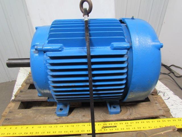 Baldor M4100 Electric Motor 15hp 3ph 208 230 460v 1160rpm