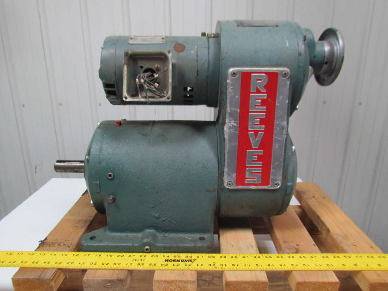 Reeves Size 222 30207482 Xc Variable Speed Drive 20 9 1
