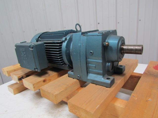 Sew eurodrive dft100ls4 r47dt100ls4 gear motor 3hp for Sew eurodrive gear motor