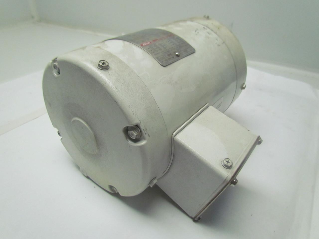 Leeson C6t34vc2h Washdown Electric Motor Reverse Actation