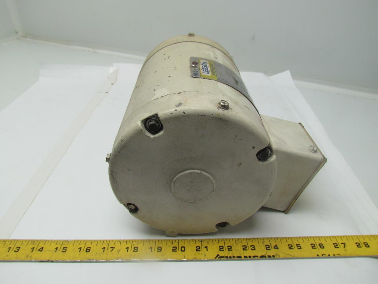 Leeson C6T34VC2H Washdown Electric Motor Reverse Rotation ...