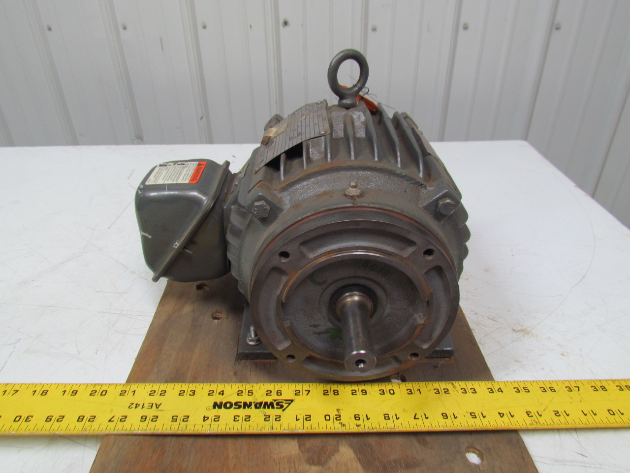Emerson Us Motors A1p3c E066b 1hp 3ph Electric Motor