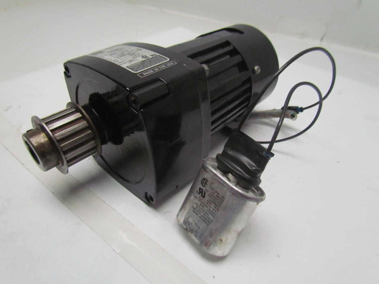 Bodine Electric 34y4bfci E4 1 100hp Gear Head Motor 504 1