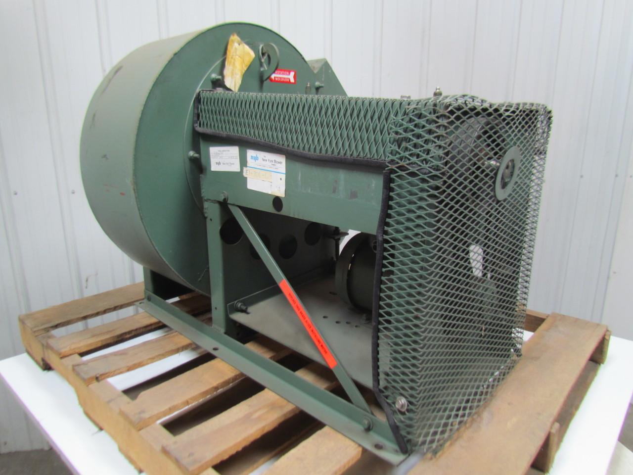 Backward Incline Fan : Ny blower acf hp general purpose centrifugal fan