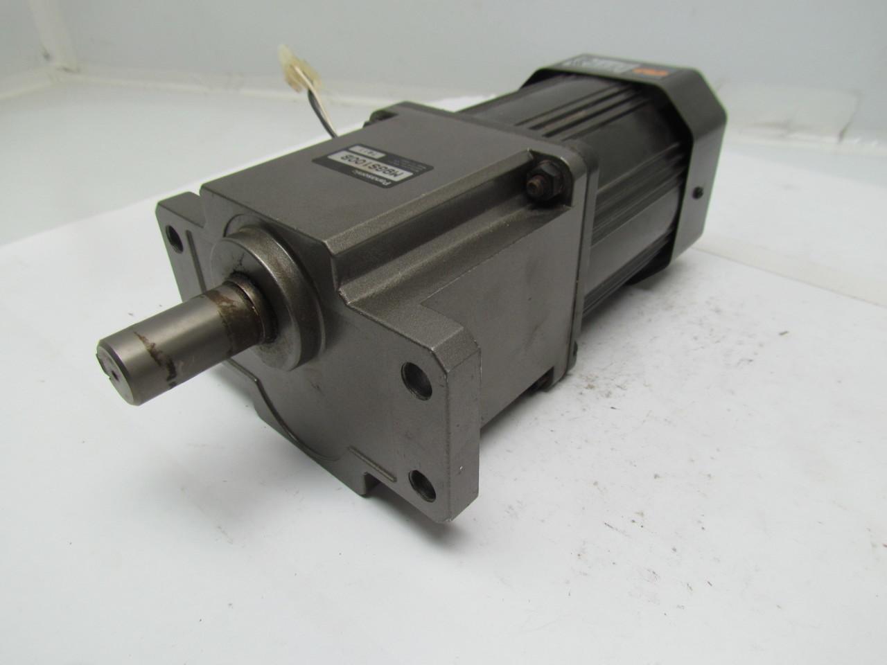 Panasonic M9rc60g4dus M9gs100b Gear Head Motor Ac Servo