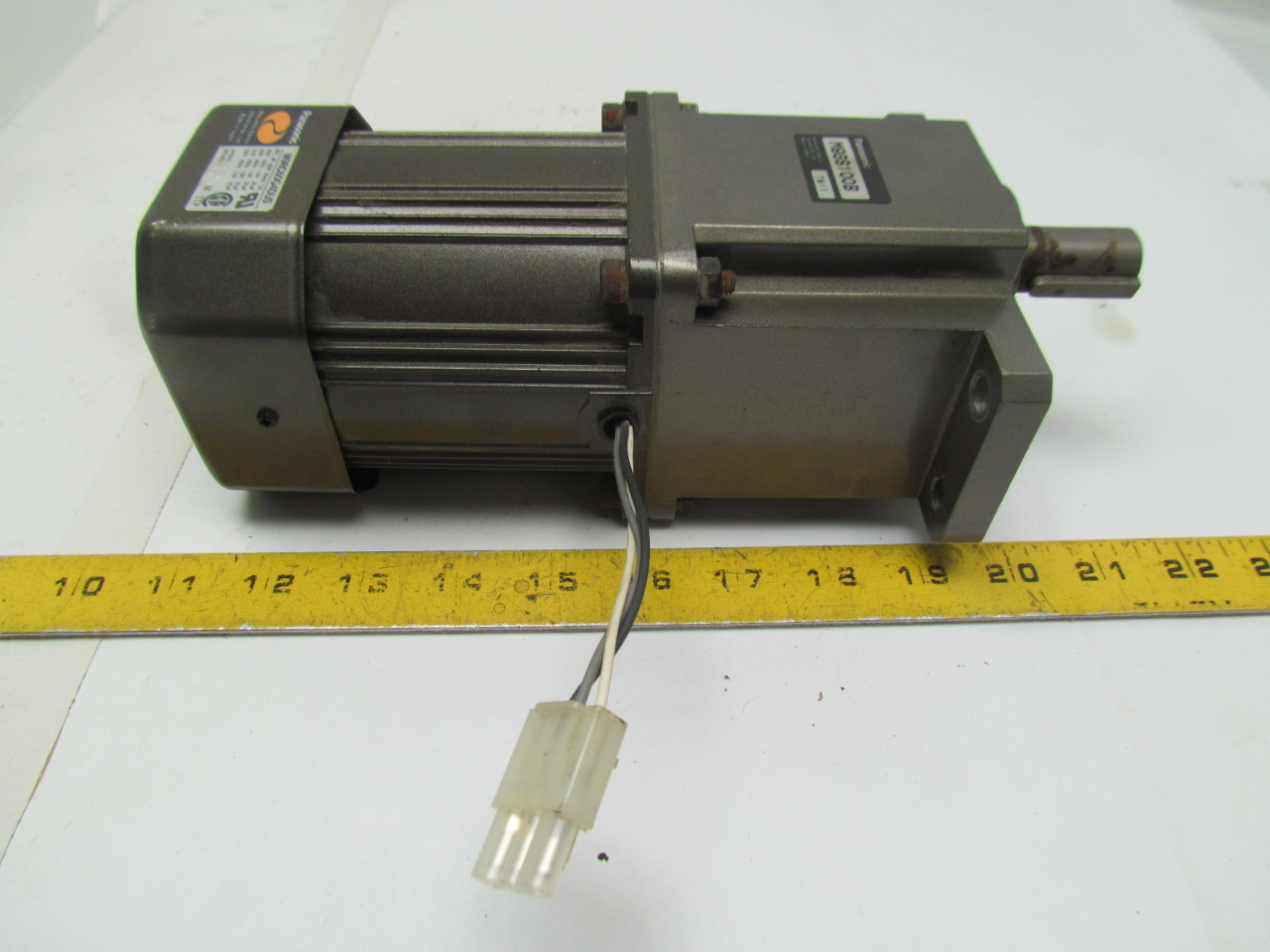 Panasonic M9rc60g4dus M9gs100b Gear Head Motor Ac Servo
