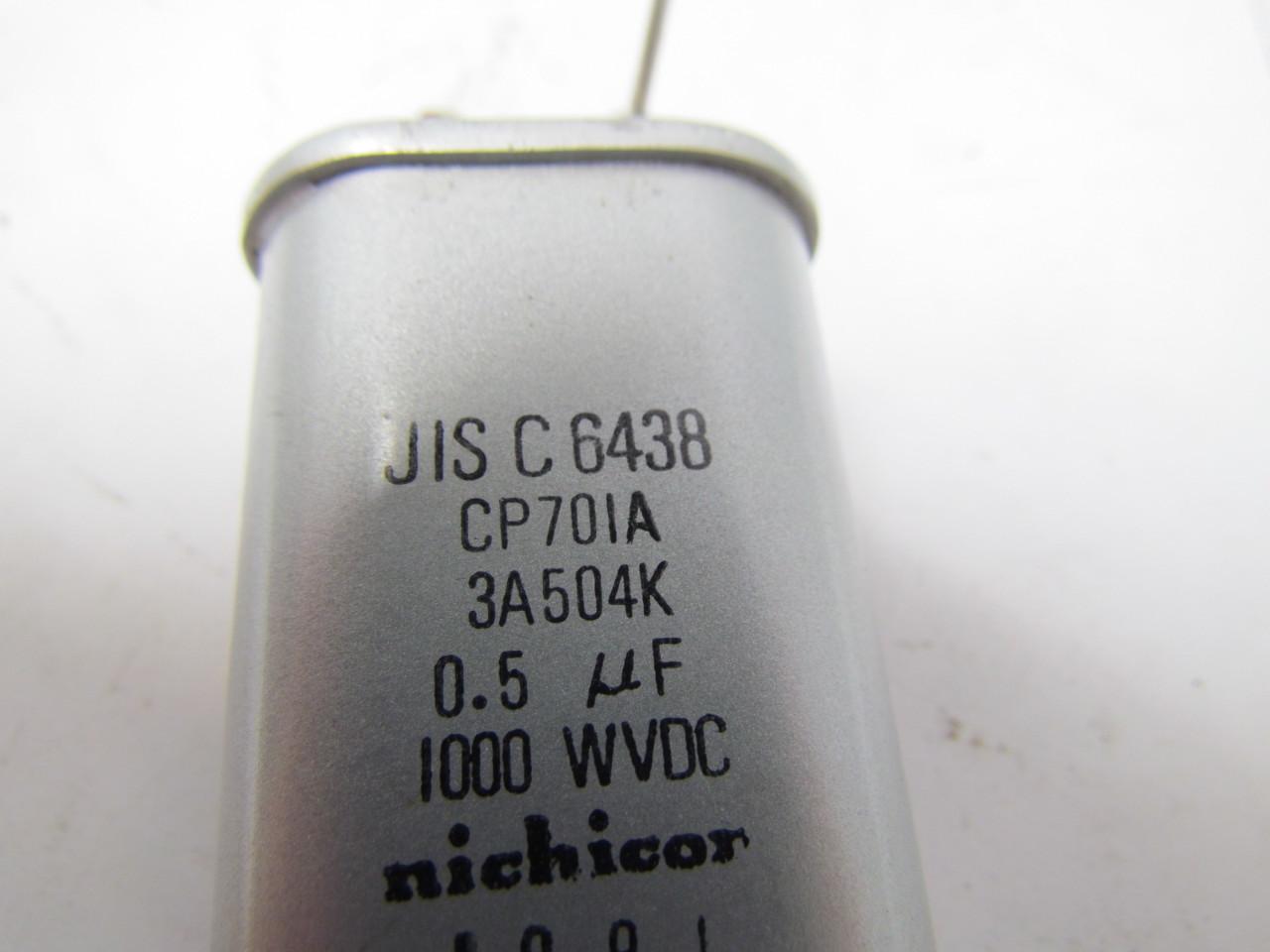 nichicon jis c 6438 dry electrolytic capacitor 0 5 uf