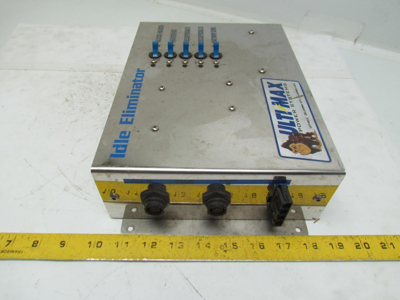 Semi Truck Control Panel : Ultimax idle eliminator control box panel semi truck no