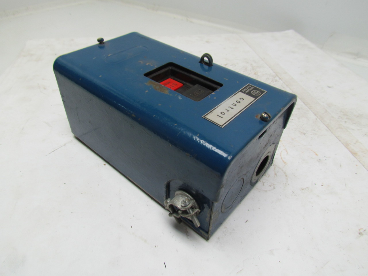 Ge general electric cr1062r2b manual motor starter w box for General electric motor starters