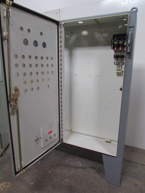 Type 12 electrical enclosure box 2 door 60tx61wx12d floor for Electric motor enclosure types