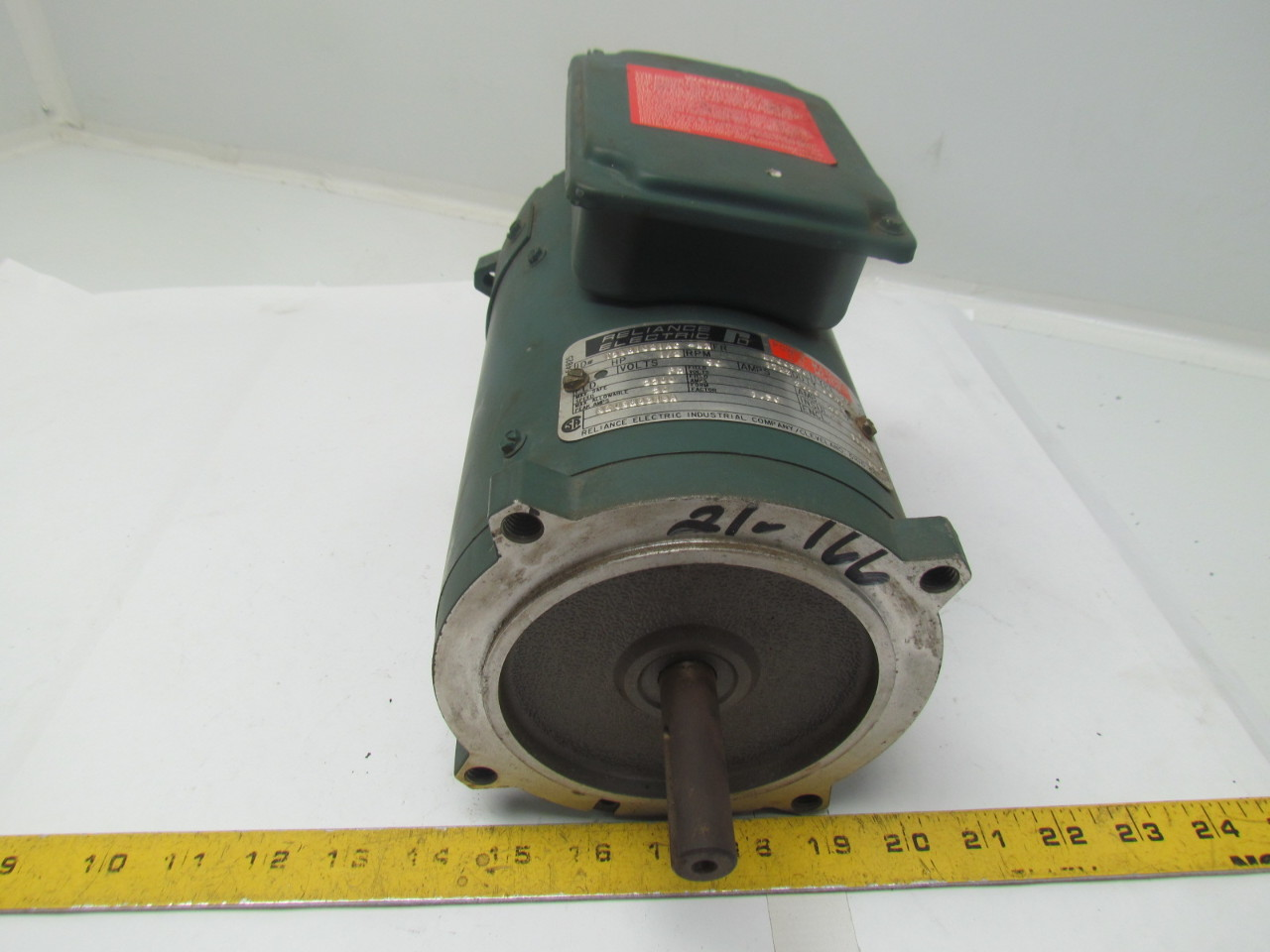 Reliance 1 2hp 90v power matched dc motor ef0056 frame for Reliance dc motor frame size chart