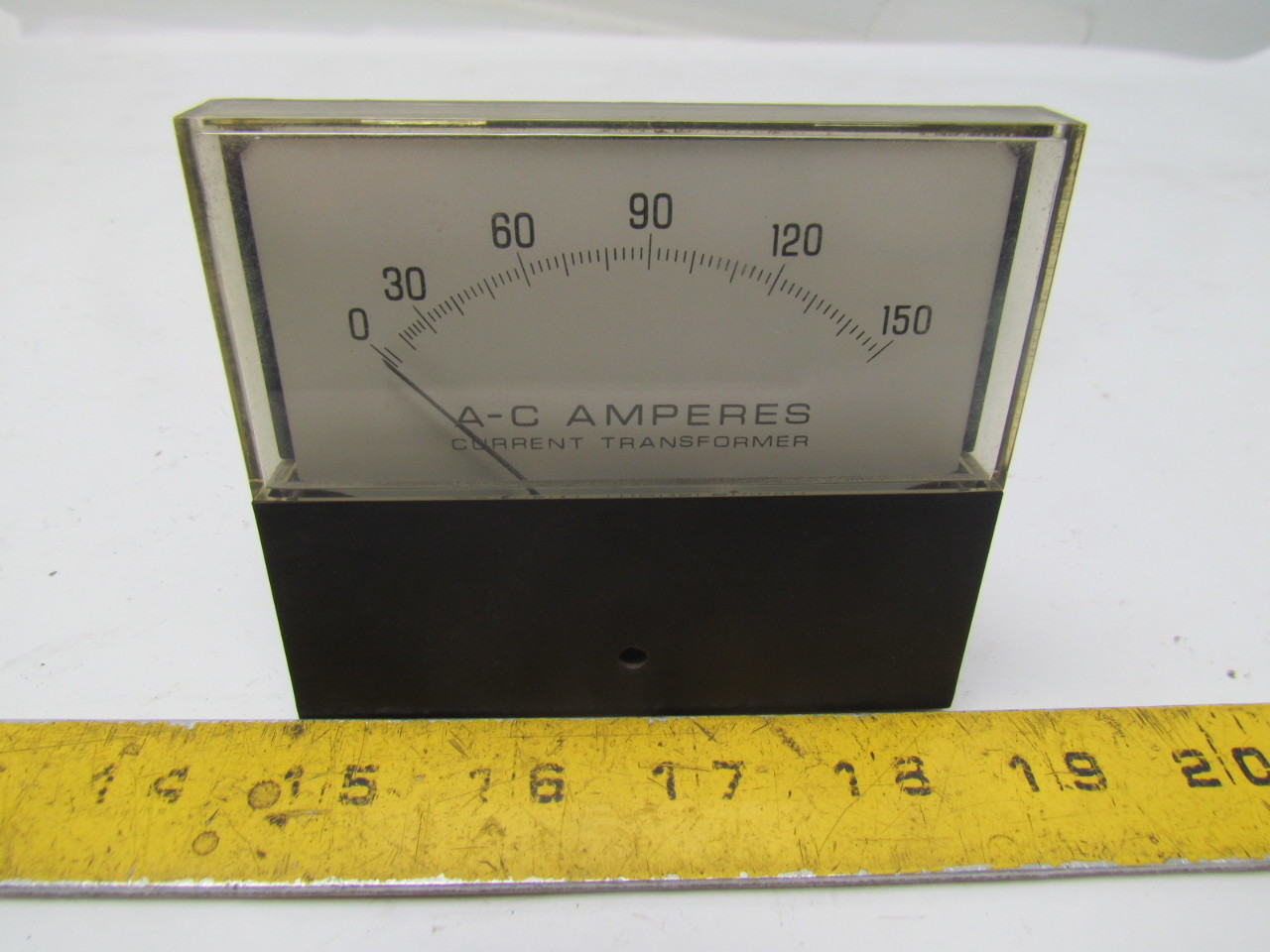 Small Amp Meter : Eil instruments yew a c amps small face amp meter ebay