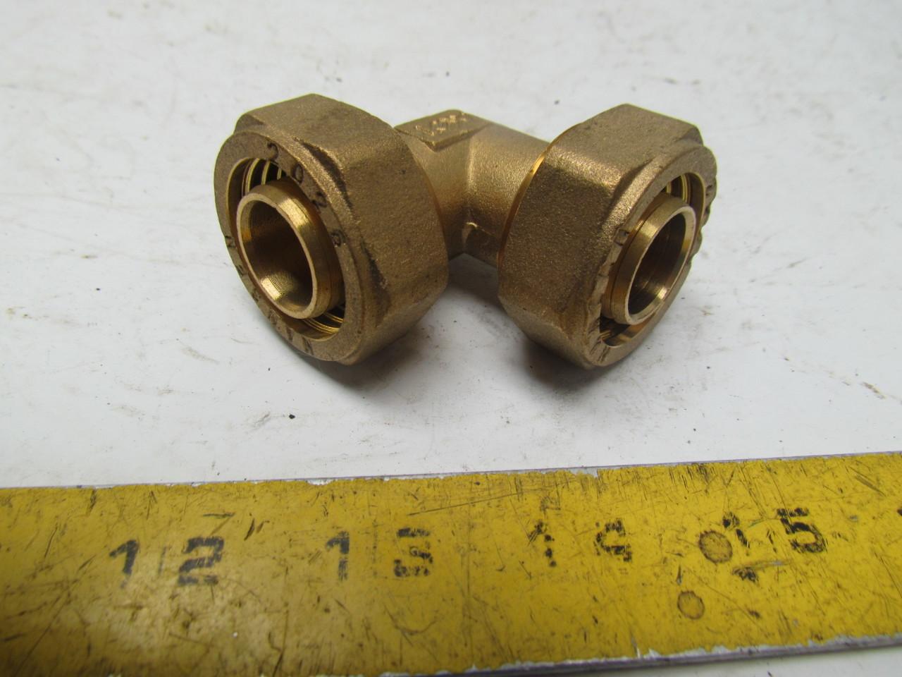 Nansen quot ° tube fitting brass compression l unused