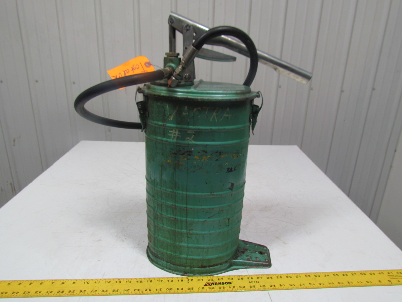 Alemite 7181 Vintage High Volume Oil Dispenser Manual