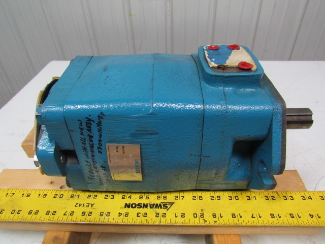 Vickers Eaton 25VPFT-071-A-C-05 A-NA-B-21R Hydraulic Vane Pump 4.33 Cu/In
