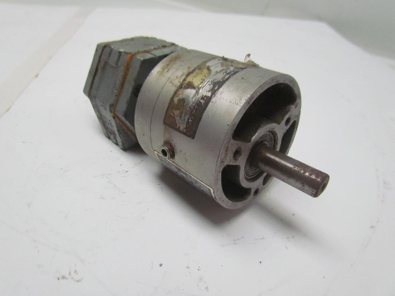 Gast 1up nrv air powered gear motor w gr 11 ratio 15 1 for Air powered gear motor