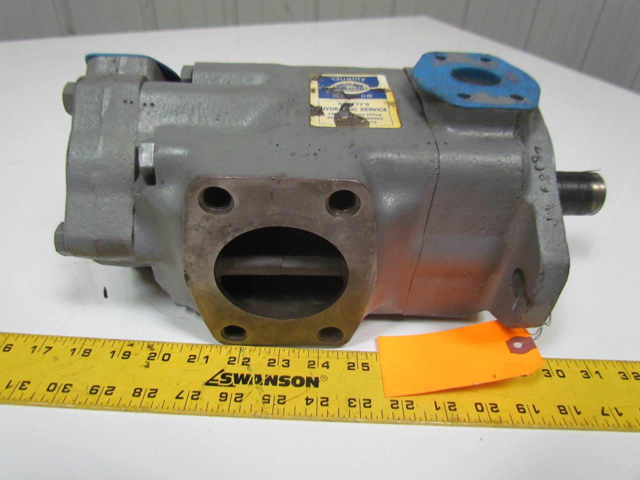 Vickers 3525V25A17-1BA22LH-095FW Hydraulic Double Vane Pump Left Hand CCW