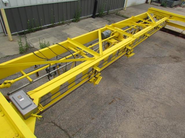 10 Ton Trolley : Ton double girder under running bridge crane trolley
