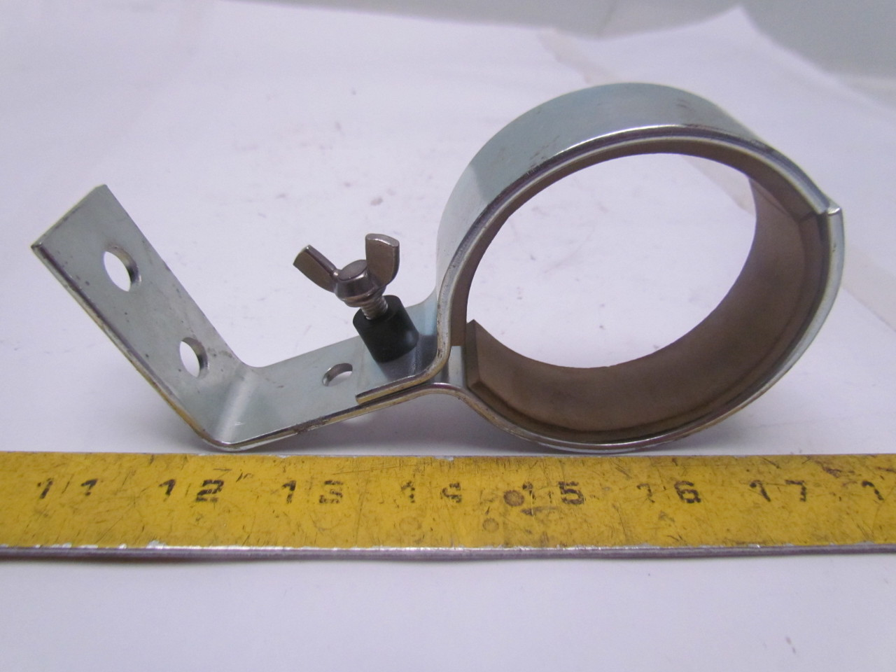 Stainless steel pipe tube clamp style hanger for od