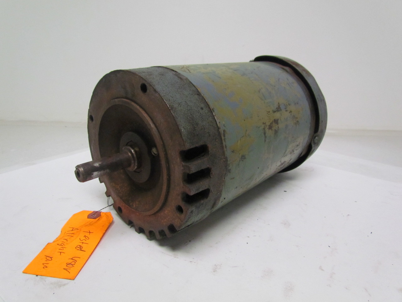 Baldor Vmm3157 2hp 3ph Electric Motor 1725rpm 208 220 440v