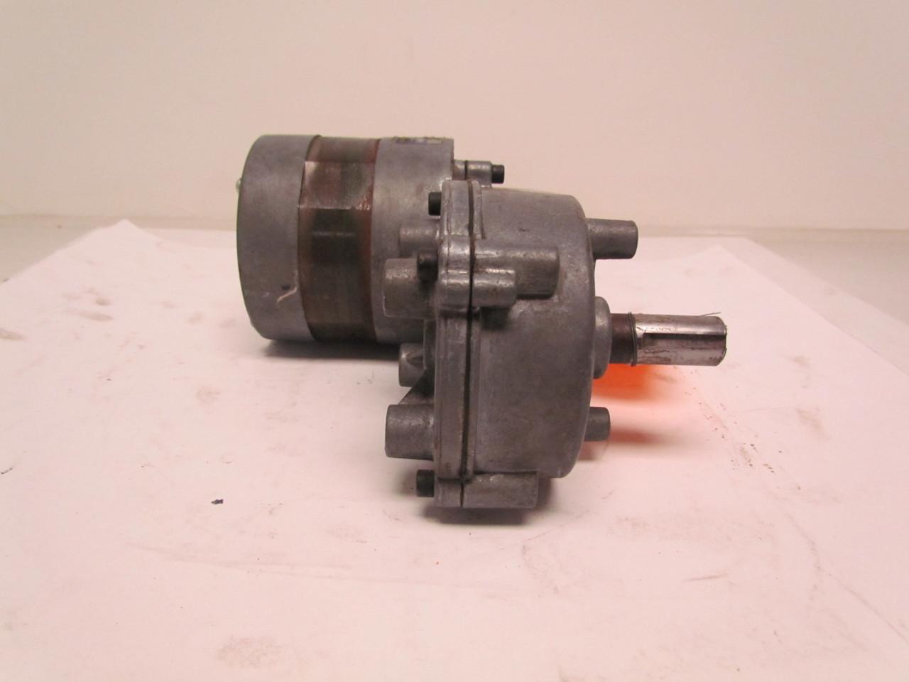 Fasco v00390aj62 1 6hp electric gear motor 1ph 115v 6rpm for Gears for electric motors