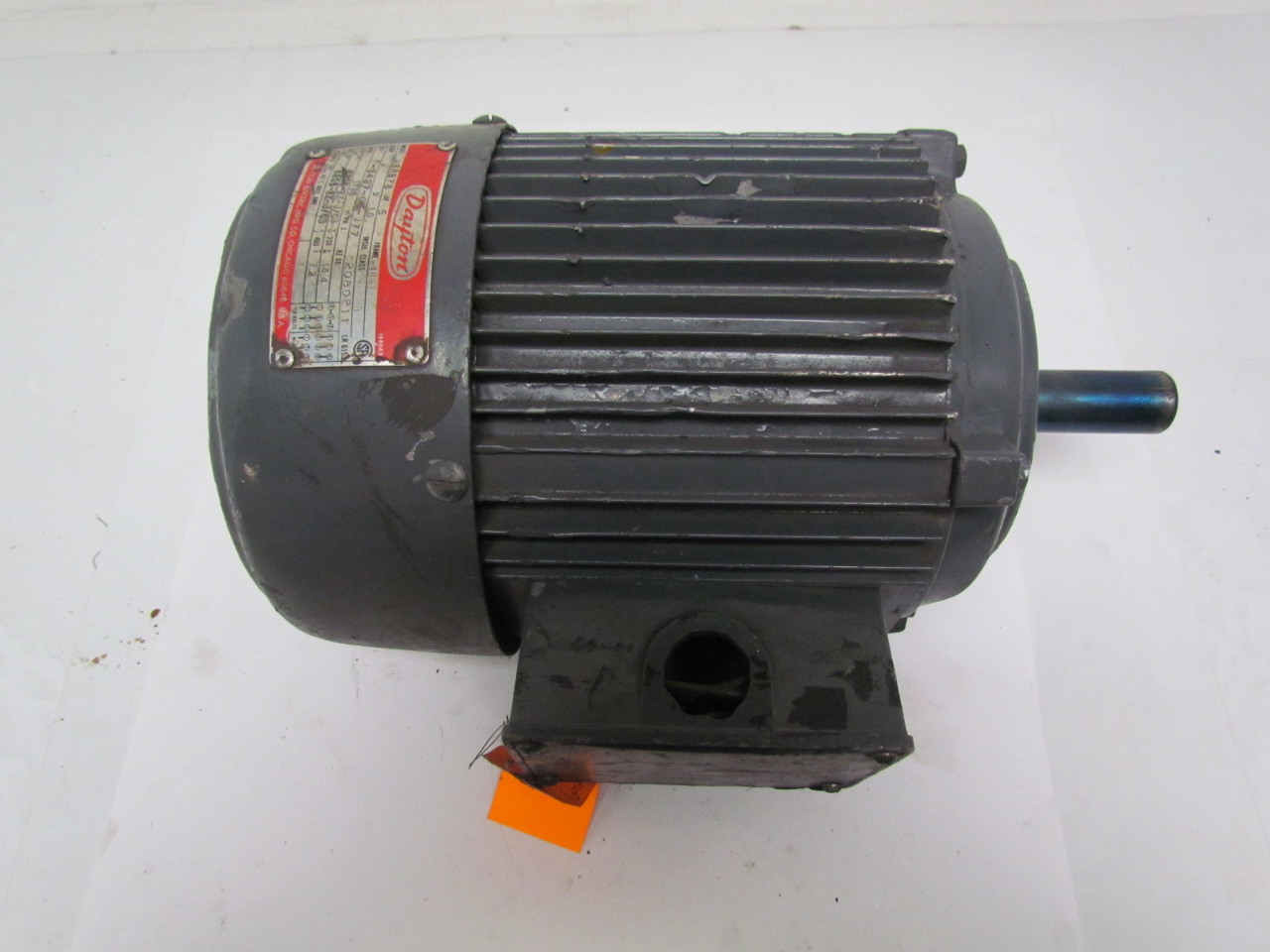 Dayton electric a3n378 5hp 460volt 1730rpm 60hz ebay for Dayton electric motors customer service