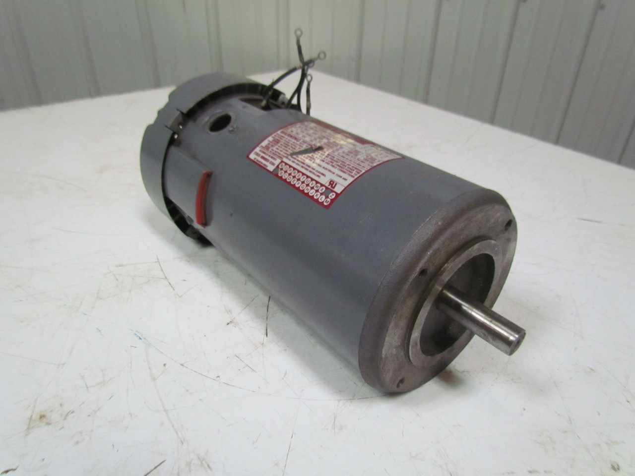 General electric 5cd123pe001b k 3 dc electric motor 1 5hp for General electric dc motors