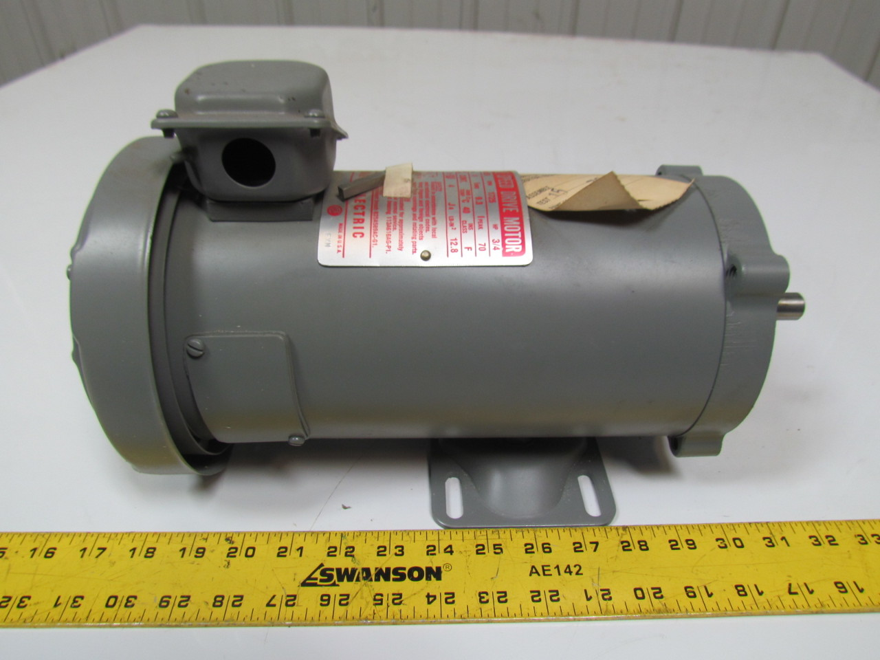 Ge general electric 5bpb56paa100 3 4hp 90vdc adjustable for Variable speed drive motor