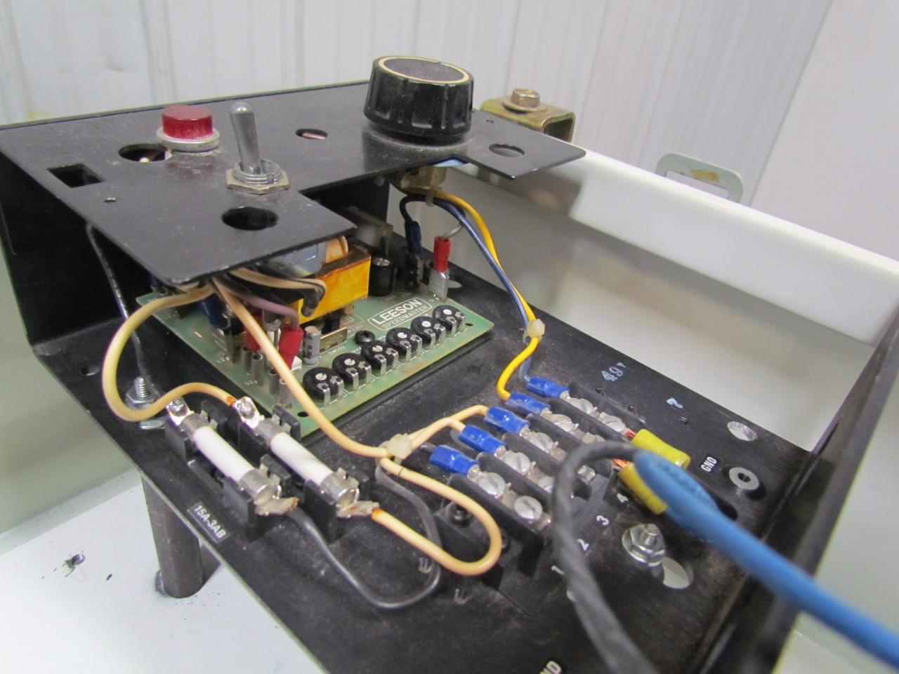 Leeson Speedmaster Wiring Diagram