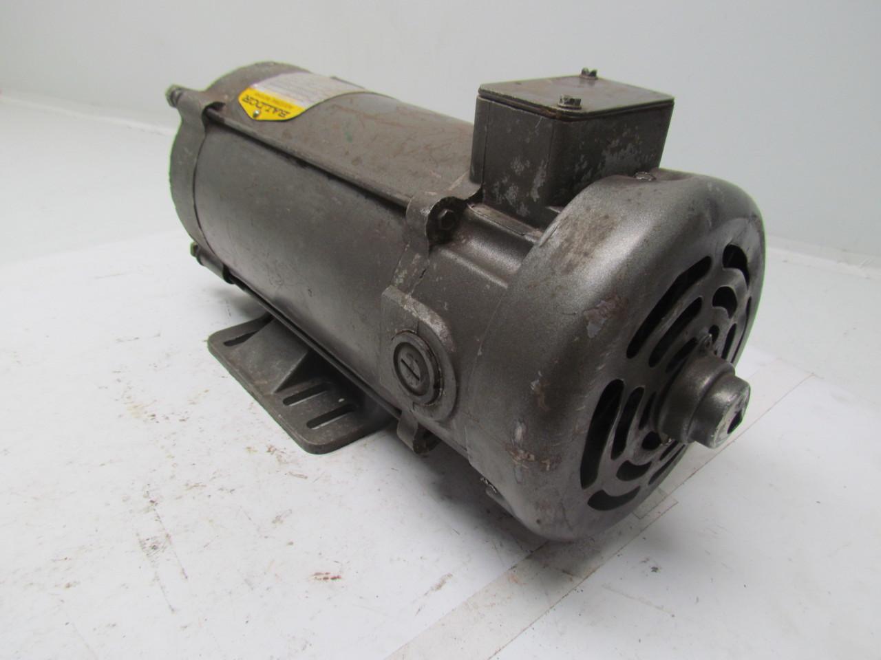 Baldor cdp3455 dc motor 1hp 180v 5a 1750rpm frame 56c ebay for 56c frame motor dimensions