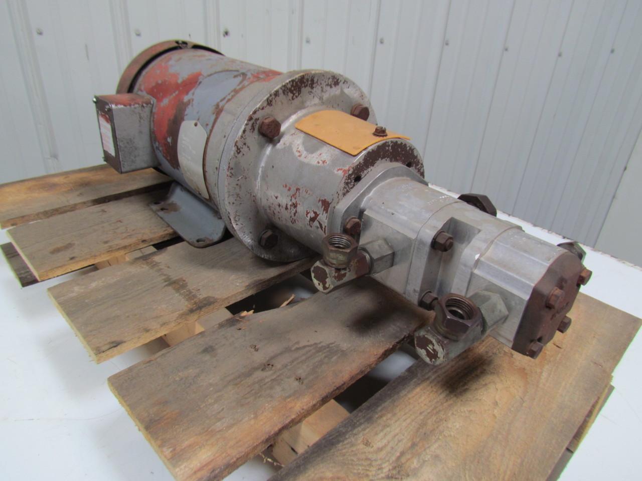 Baldor Cm3615t Electric Motor 5hp 3ph 1750rpm 184tc Frame