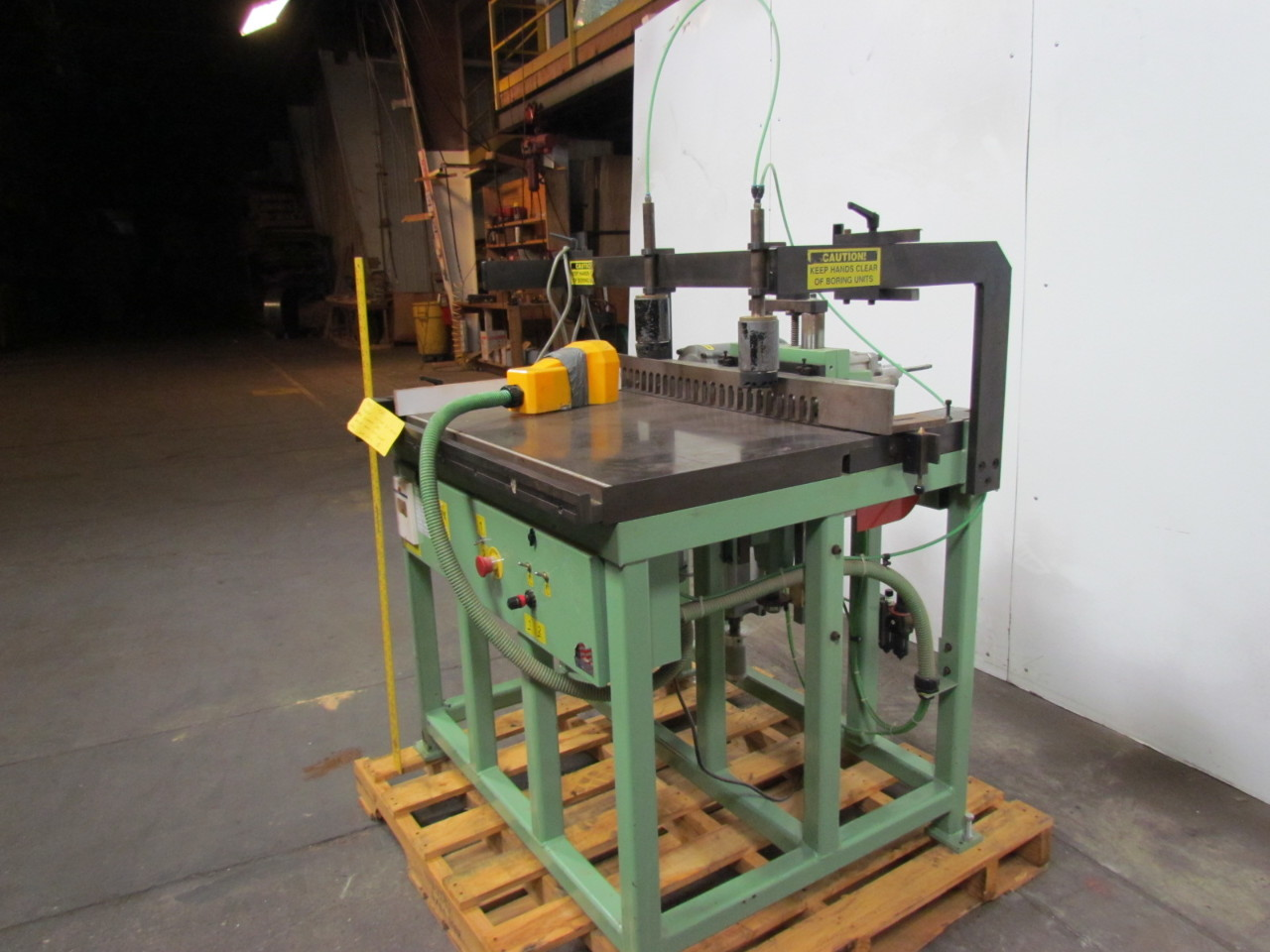 Spindle Boring Machine : Conquest b horizontal vertical spindle mm line