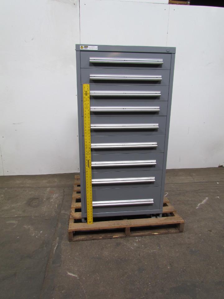 Vidmar Stanley 9 Drawer Steel Industrial Tool Parts
